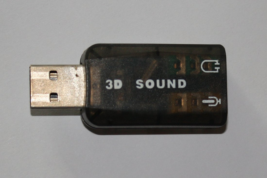 3D sound USB sound card